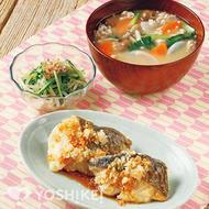 白身魚の薬味じょうゆ