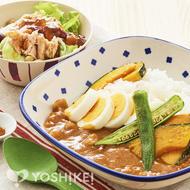 夏野菜のビーフカレー