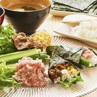 にぎやか手巻き寿司