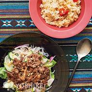 アジアン風牛肉サラダ