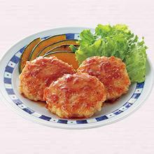 鶏つくねの梅照り焼き