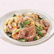 豚肉と白菜のスタミナ炒め