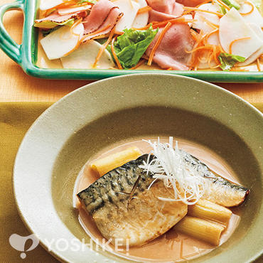 さばと揚げ葱の味噌煮