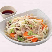 豚肉と白菜のはさみ蒸し