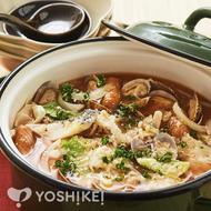 コラーゲンスープのトマト鍋