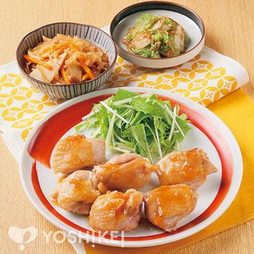 鶏肉の黒酢玉葱ソース