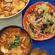 カムジャタン(豚肉とじゃが芋の旨辛鍋)