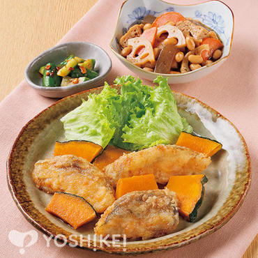 白身魚の甘辛焼き