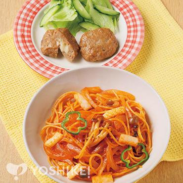 簡単!スパゲティナポリタン