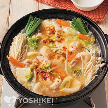 ピリ辛ごま豆乳鍋