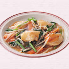 鶏肉と野菜のとろみ炒め