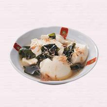 すくい豆腐のおかかがけ