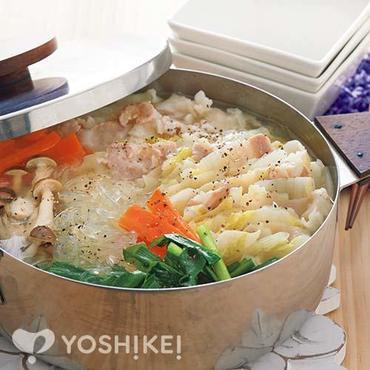 もちっと豚バラ白菜鍋