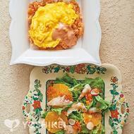 真鯛とオレンジのカルパッチョ