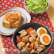 鶏とごぼうの照り煮