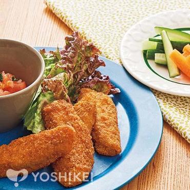 お魚フライ~フレッシュトマトソース~