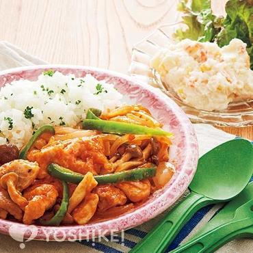 カチャトーラ(鶏肉のトマトソース煮)