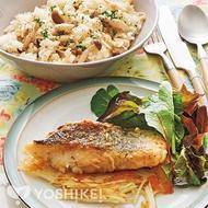 白身魚のポアレ ~ガレット添え~