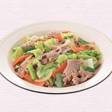 豚肉と野菜のスタミナ炒め