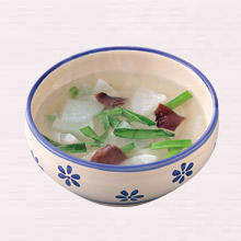 大根とにらのスープ