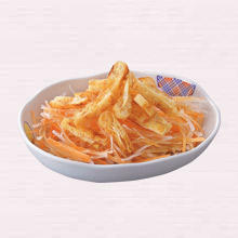 カリカリお揚げの大根サラダ