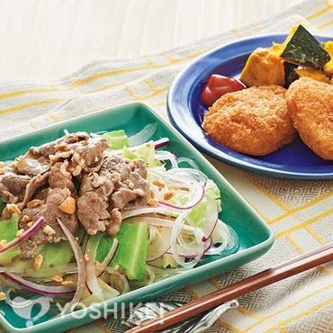 牛肉のアジアンサラダ