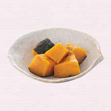 かぼちゃの塩煮