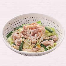 豚肉と野菜のフライパン蒸し