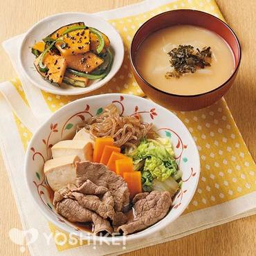 すきやき風煮|定番献立レシピ|夕食食材宅配サービス:ヨシケイ