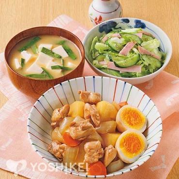 鶏とじゃが芋の照り煮