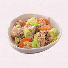 そぼろ肉豆腐