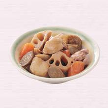 鶏と根菜の炒り煮