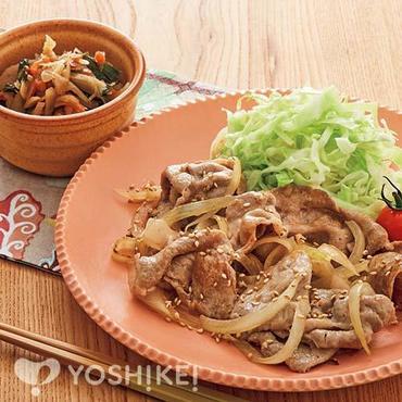 豚肉の塩生姜焼き