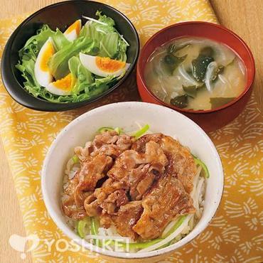 炭火風ジューシー豚丼