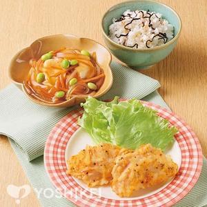 白身魚のポテト衣焼き~チーズ風味~