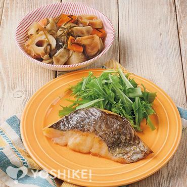 白身魚のフライパン焼き