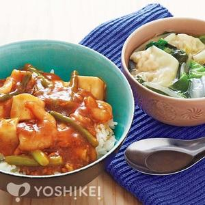 海老入り麻婆豆腐丼