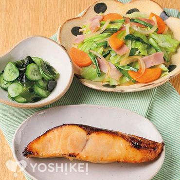 白身魚の醤油漬焼き