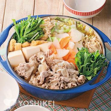 <大阪>豚肉と水菜のはりはり鍋