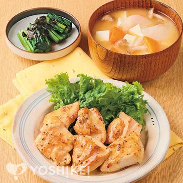 鶏肉のマヨマスタード焼き