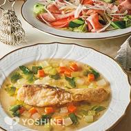 白身魚のポアレ ~スープ仕立て~