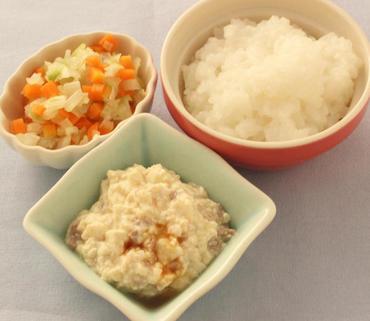 肉豆腐・野菜のやわらか煮・おかゆ