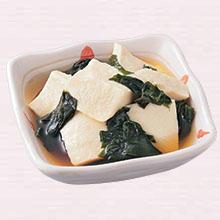 豆腐の薄味煮