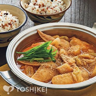カムジャタン風ピリ辛鶏鍋