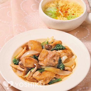 鶏肉のオイマヨ炒め