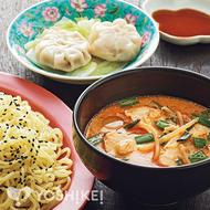 タンタンチキンつけ麺
