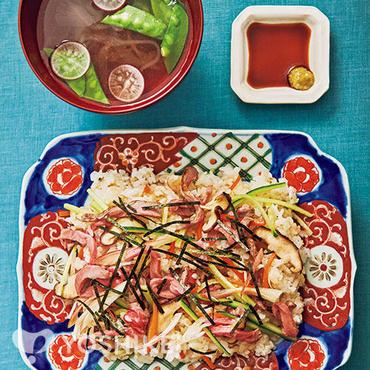ローストビーフちらし寿司