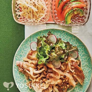 アジアン風カリカリ豚肉