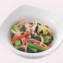 青菜とかに風味のお浸し