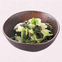白菜とわかめの酢のもの